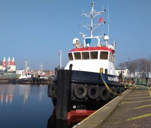 Sea Bravo, Sea Bulldog, Sea Echo, Union 6 & Terneuzen