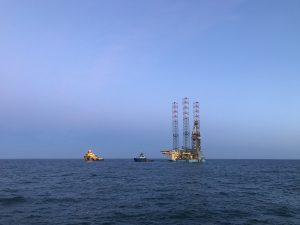 Maersk Resolve installed at Q/1-D Platform