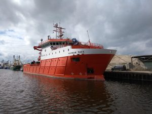 Glomar Wave & Catharina 5