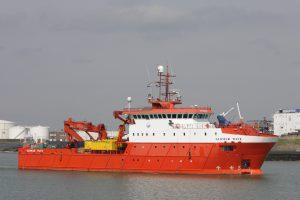 Glomar Wave vertrok uit de Buitenhaven op 10-04-18