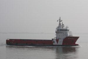 Vos Precious vertrok gisteren naar zee.