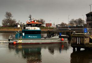 OFFSHORE WADDENZEE komt Den Helder binnen