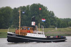 Impressie vaardag sleepboothaven Maassluis