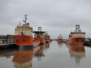 Sealion vessels at Albert Dock, Hull