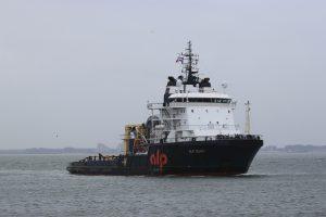 ALP GUARD aangekomen te Vlissingen ( buitenhaven )