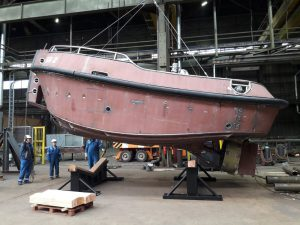 Niron Staal fabricates two Stan Launch 804s for Damen Maaskant Shipyards Stellendam