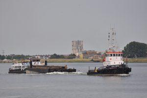 Afon Cefni transport ponton