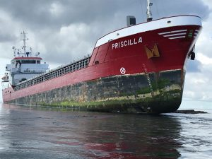 EXPERIENCED SALVORS APPOINTED IN SALVAGE OPERATION OF MV PRISCILLA
