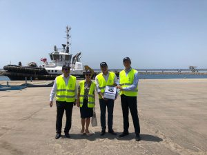 Damen signs with VTS Vasiliko Terminal Services for ASD Tug 2310
