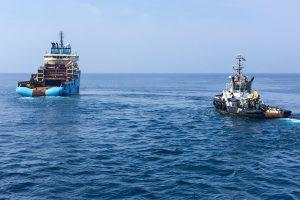 Multratug 4, Maersk Lancer, Seacor Voyager