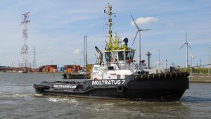 Multratug 7 met Bow Gallant