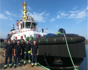 J. Johannsen & Sohn takes delivery of newbuilding ASD tugboat CLAUS with 75 t bollard pull