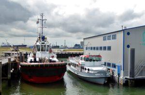 Calandkanaal en Scheurhaven