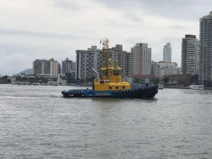 Wilson Sons delivers third Damen designed ASD Tug 2411 to SAAM SMIT Towage in Brazil