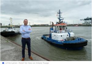 Antwerp Towage sleept al tien jaar containerreuzen