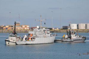 NOORDZEE brengt HAARLEM van Den Helder naar Zeebrugge