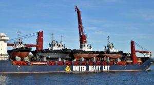 TASMANIC WINTER met 24 nieuwe schepen aan boord voor DAMEN