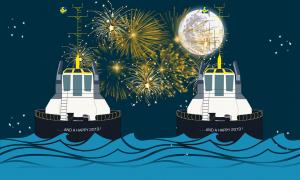 Fijne feestdagen en een gelukkig nieuwjaar aan alle tugspotters!