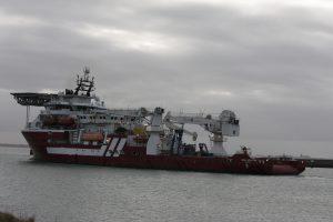 BOKA ATLANTIS weer naar zee