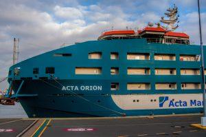 ACTA ORION AFGEMEERD IN DEN HELDER