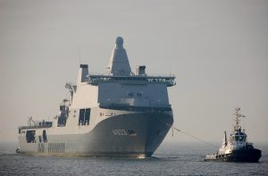 Brent & Triton met Zr. Ms. Karel Doorman