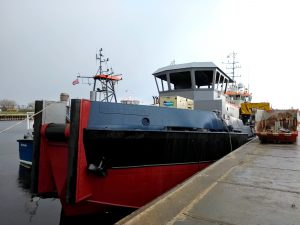 DCS Explorer, Coastal Challenger, Coastal Chariot, MCS Boreas, DMS Stork