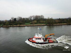 Teddy underway to sea trials