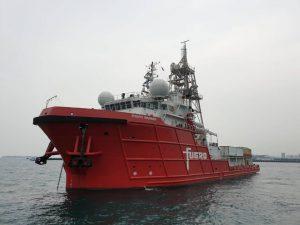 Fugro Mariner, Coral Explorer, Southern Star, SAL Lone