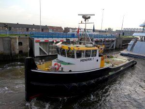 VLB2 & Hendrik 7 met Amels jacht Ventum Maris