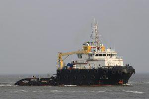 BRITOIL 120 met H402 naar zee