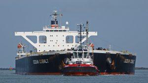 Assistentie aan de OCEAN COBALT en FENNO SWAN in Europoort 7-4-2019