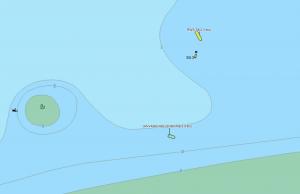 SPOETNIK schiet vastgelopen motorjachtje te hulp in het schaar van de noord.