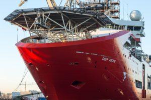 Damen Shiprepair Amsterdam completes major  maintenance programme on OSV Deep Arctic