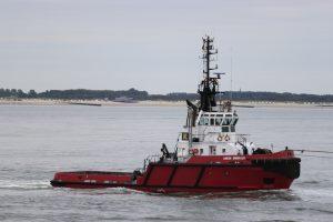 BRITOIL 120 met H302 naar zee