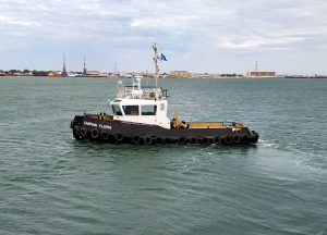 Caspian Offshore Construction takes swift delivery of Damen Stan Tug 1606 ICE