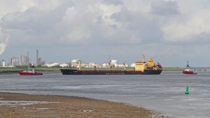 Tzarevetz – (Navigation Maritime Bulgare) assisted by: Union 8 – and Union Ruby
