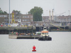WALRUS II en IMPERADOR I naar Antwerpen.