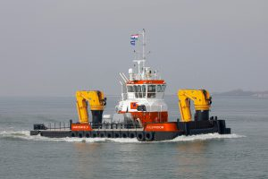 Van Wijngaarden Marine Services places order for its first Damen Multi Cat DP1