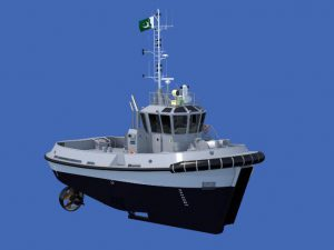 Damen signs contract with Karachi Shipyard & Engineering Works for third ASD Tug 2009