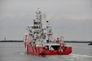 VOS START van IJmuiden naar Oostende
