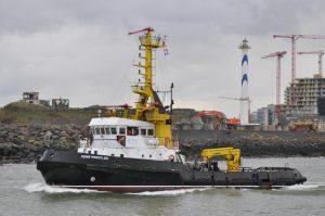 ZEEHOND verlaat Oostende als EEMS WRESTLER