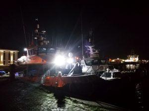 Werkschepen in Vlissingen
