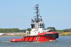 Waterman transport Wagenborg Barge 5