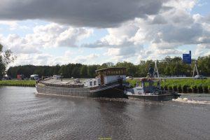 EMERGO met de JATRIE richting Groningen