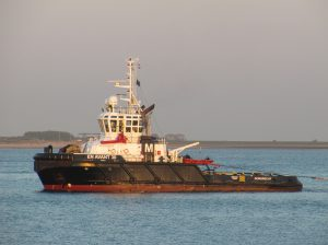 En Avant 30 & VB Seine met barge H-401