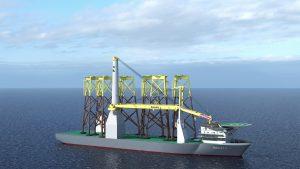 Important milestone Bokalift 2 crane vessel conversion