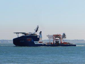 Werkschepen Offshore Windparken