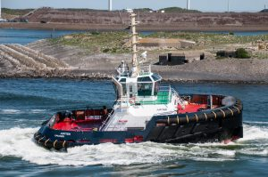 Damen delivers ASD Tug 2312 to Iskes in IJmuiden
