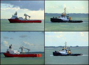 Brand aan boord W2W Vessel Wilson Arctic