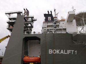Bokalift 1 in de Eemshaven